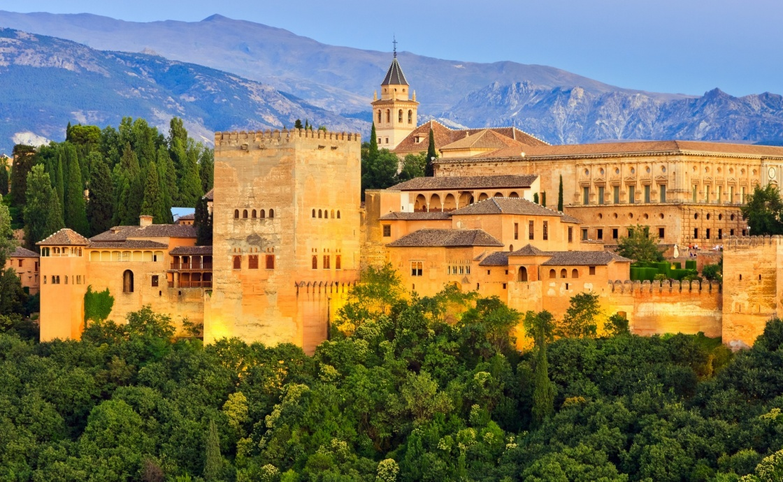 'Alhambra palace, Granada, Spain' - Andalusien
