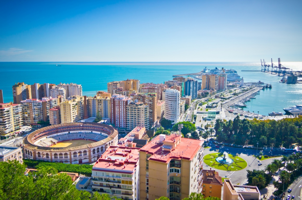 'Beautiful view of Malaga city, Spain' - Andalusien